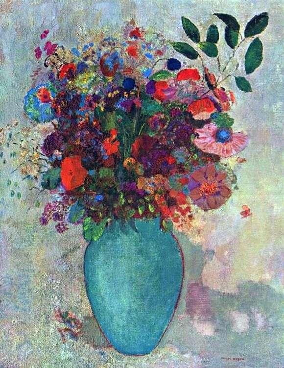 Opis Obrazu Odilona Redona Kwiaty Redon Odilon